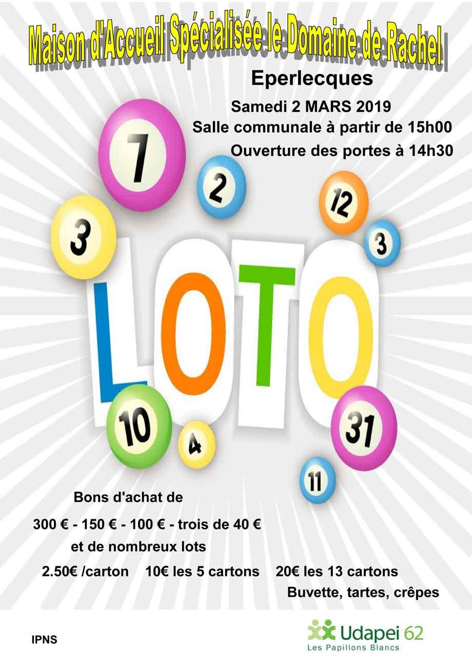 Affiche loto mas 2019