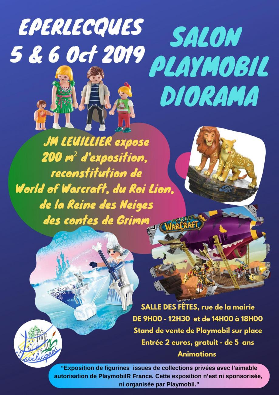 Affiche playmobil 5 6 oct2019